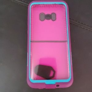 Good used condition, lifeproof case for S8+